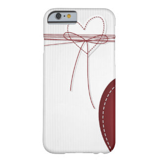 Deux coeurs coque iPhone 6 barely there