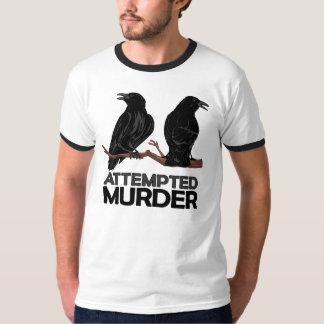 Deux corneilles = tentatives de meurtre t-shirt