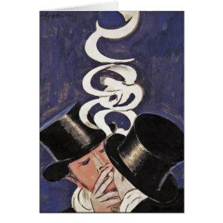 Deux Fumeurs by Cappiello Card