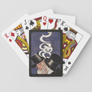 Deux Fumeurs by Cappiello Playing Cards