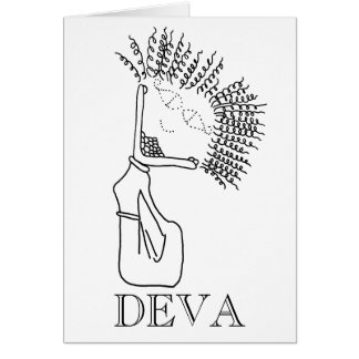 DEVA GREETING CARD