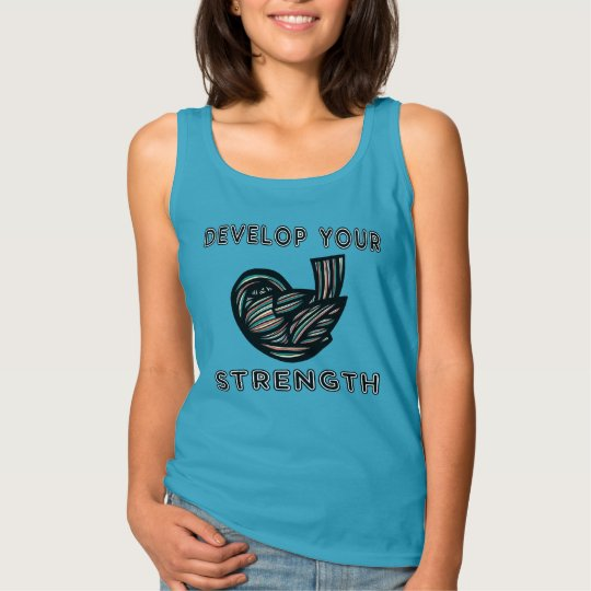 """Develop Your Strength"" Women's Basic Tank Top"