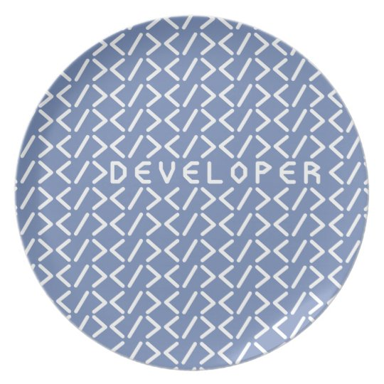 Developer (+white/p) plate