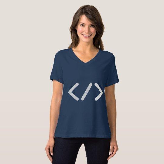 Developer / Women's Bella Relaxed Fit Jersey T-Shirt