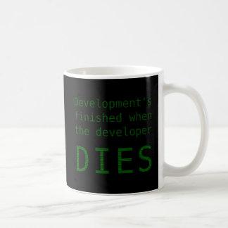Development Never Ends Coffee Mug