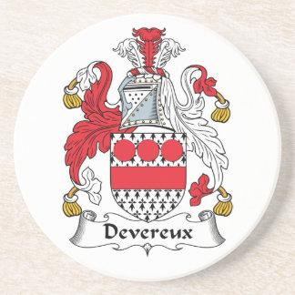 Devereux Family Crest Coaster