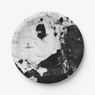 devestation masks 7 inch paper plate