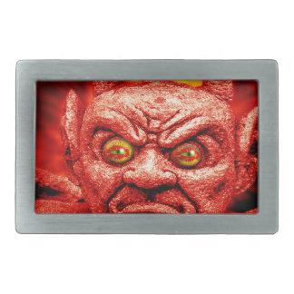 devil-890 rectangular belt buckle