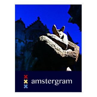 Devil Amstergram Postcard