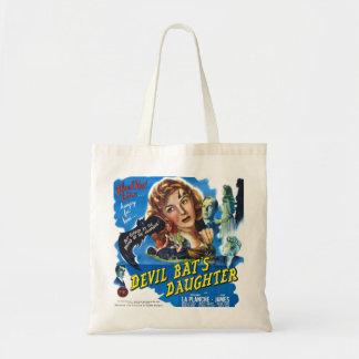 Devil Bat's Daughter, vintage horror movie poster Tote Bag