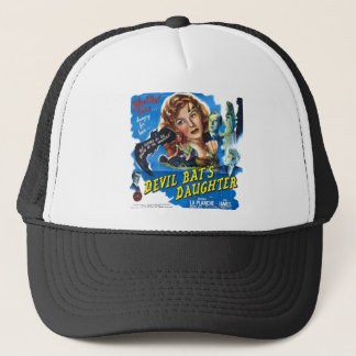 Devil Bat's Daughter, vintage horror movie poster Trucker Hat