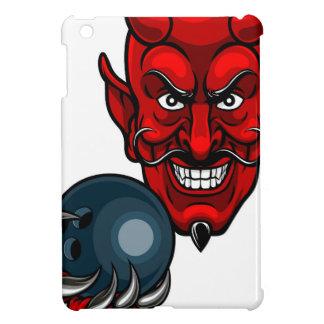 Devil Bowling Sports Mascot iPad Mini Cases