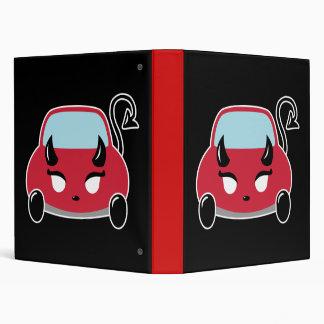 Devil Car Vinyl Binders