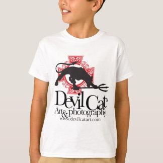Devil Cat Art T-Shirt