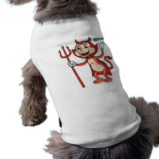 Devil Cat Pet T Shirt