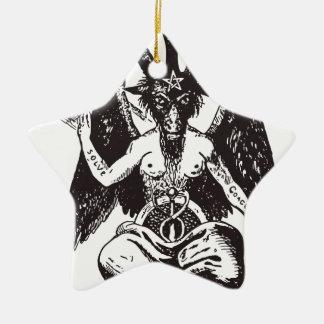 Devil Ceramic Ornament