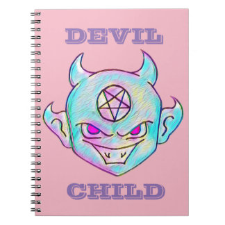 Devil Child Spiral Notebook