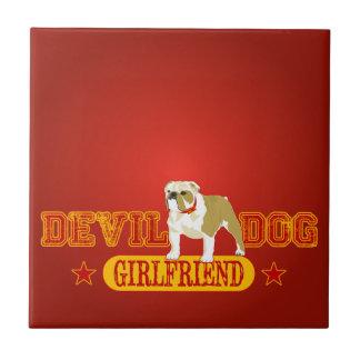 Devil Dog Girlfriend Tiles