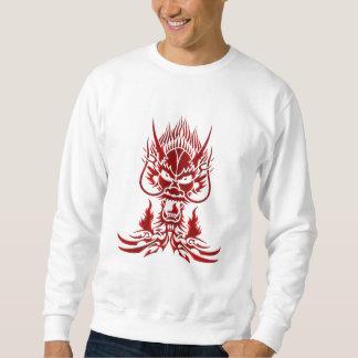Devil Dragon red Sweatshirt