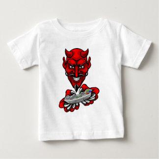 Devil Esports Sports Gamer Mascot Baby T-Shirt
