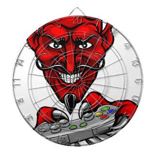 Devil Esports Sports Gamer Mascot Dartboard