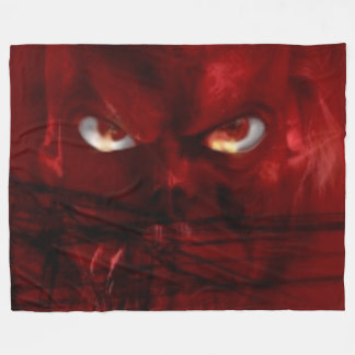 DEVIL EYES FLEECE BLANKET