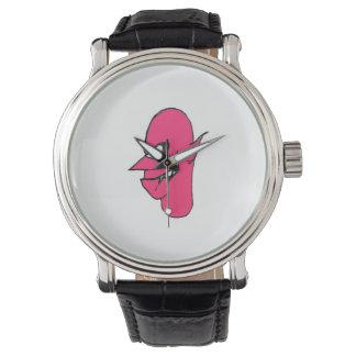 Devil Face Character Illustration Wrist Watch