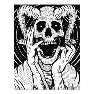 devil face letterhead