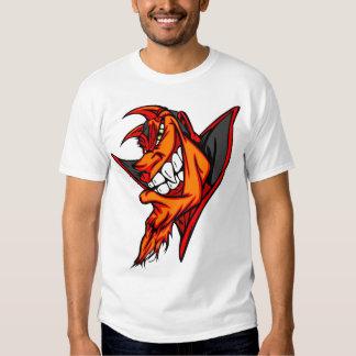 Devil grinning shirt