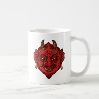 Devil Head (red) Coffee Mug