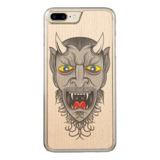 Devil Illustration Carved iPhone 8 Plus/7 Plus Case