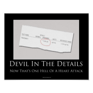 Devil In The Details Motivational Poster
