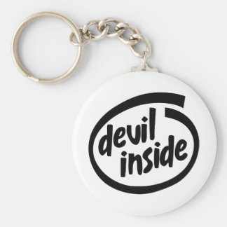 Devil Inside Keychain