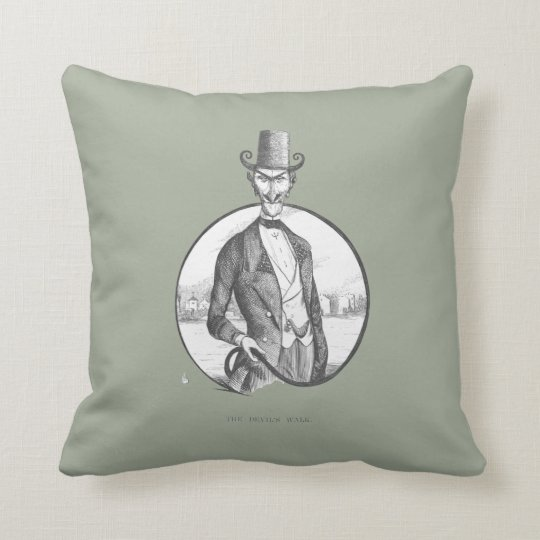Devil is a gentleman cushion