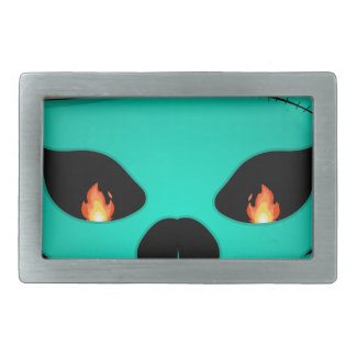 Devil monster rectangular belt buckles