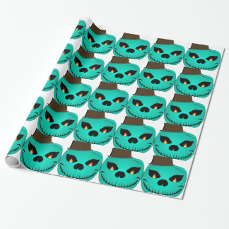Devil monster wrapping paper
