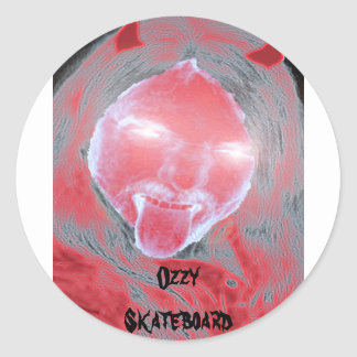Devil Ozzy Skateboard stickers