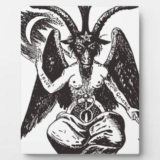 Devil Plaque