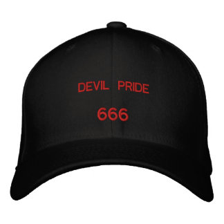 DEVIL PRIDE, 666 EMBROIDERED HAT