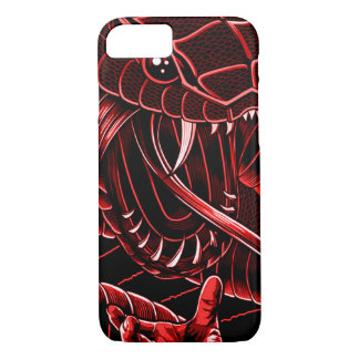Devil Serpent iPhone 7, Barely There Case