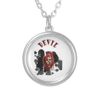 Devil Skull Red Color Jewelry