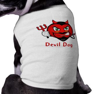 Devil Smiley Doggie Tshirt