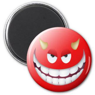 Devil Smiley Face 2 Magnet