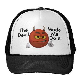 Devil Smiley Guy Trucker Hat