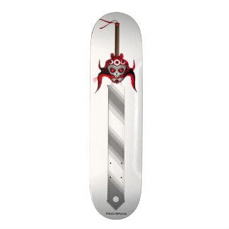 Devil sword Shape Skateboard Deck
