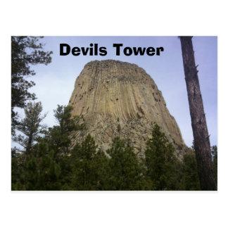 Devil Tower Postcard
