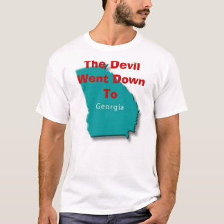 Devil Went Down To Georgia T-Shirt