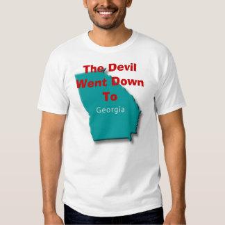 Devil Went Down To Georgia Tees