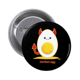 Deviled Egg 2 Inch Round Button