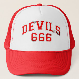 Devils 666 trucker hat